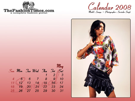 TheFashionTimes.com Calendar 2008
