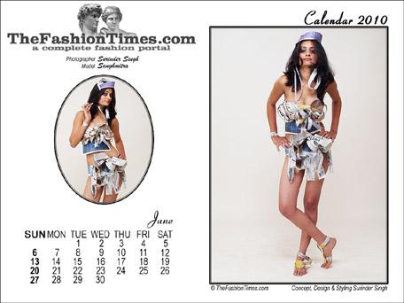 TheFashionTimes.com Calendar 2010