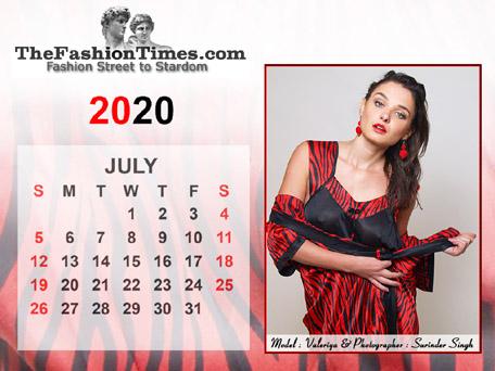 TheFashionTimes.com Calendar 2020